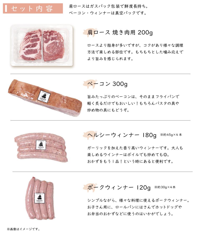 JAPAN X,お試しセット,精肉・加工肉セット,セット内容,